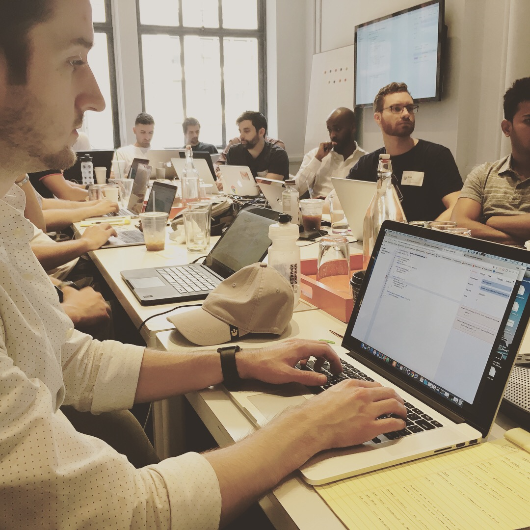 Developer I is a hands on course for experienced developers