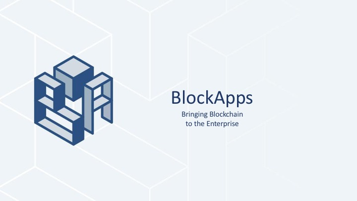 BlockApps Enterprise Blockchain