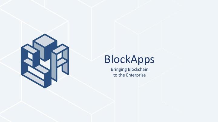 BlockApps Enterprise Blockchain